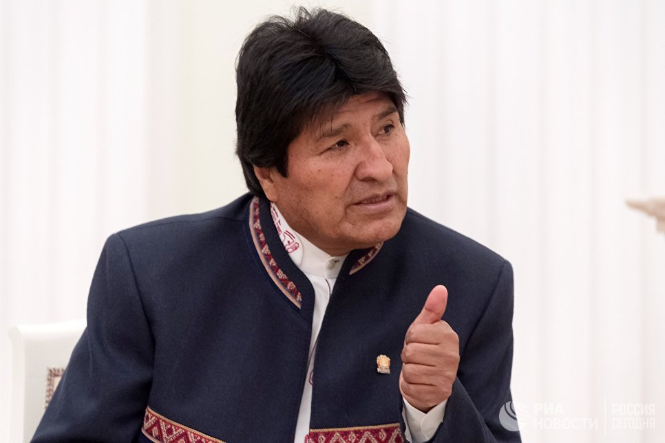 Президент Боливии назвал США угрозой миру из-за решения Вашингтона по ДРСМД  https://t.co/rWyEzFOeXs