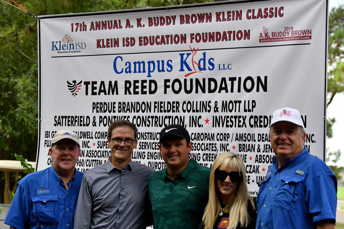 Thank you for having us @KleinFoundation. Justine and I are humbled to give back to teachers and we love supporting your foundation. 100 percent of the proceeds go directly to teachers to help off-set classroom costs and we believe in your mission to improve education.