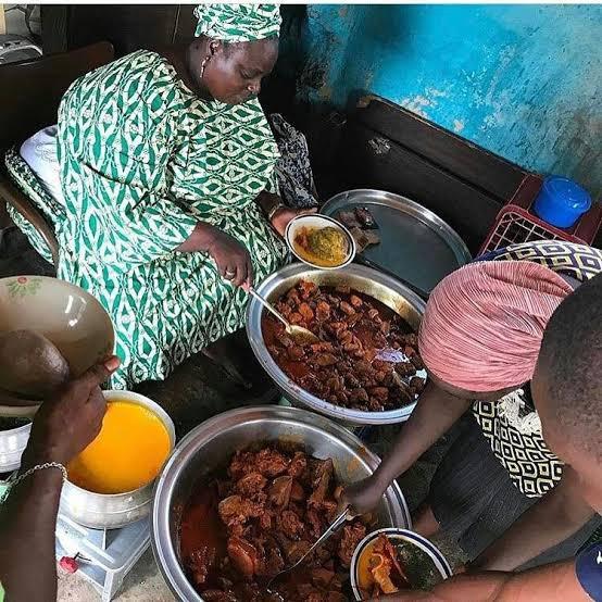 Image result for street food in ibadan