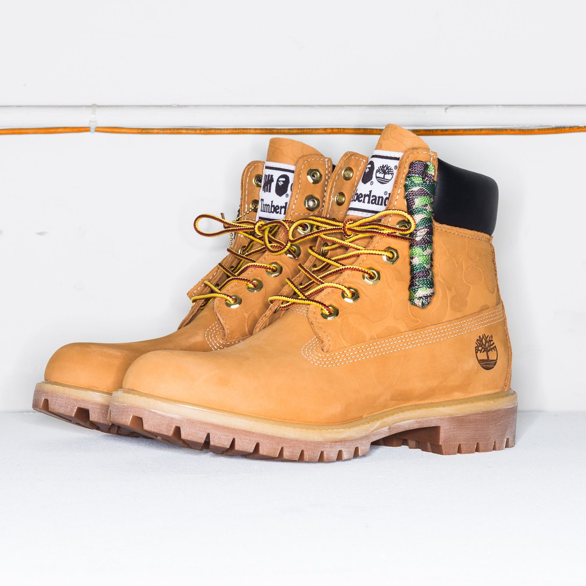 A BATHING APE® x UNDEFEATED x Timberland  bape  undefeated  timberland pic.twitter.com w8wHL3yfC3 1b9eaae430