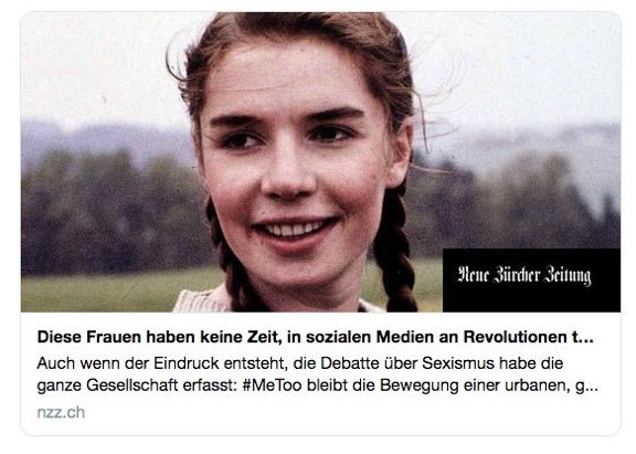Judith Liere On Twitter Die Nzz Feiert Frauen Die Keine Zeit