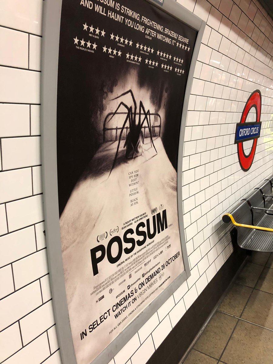 size 40 3a9e3 d96ce POSSUM coming to cinemas near you from the 26th of October!!!  BFI   the fyzz  Bulldog Film