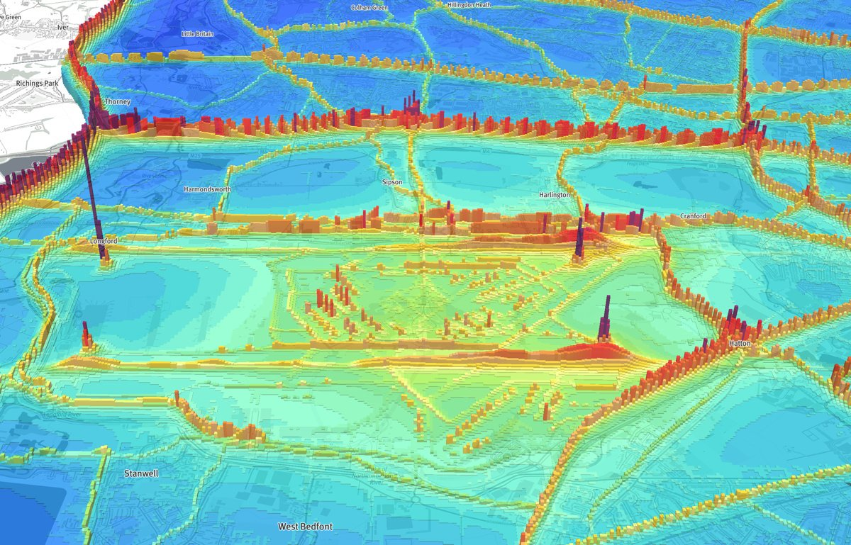 Sections Of London Map.Oliver O Brien On Twitter Mapping London Looks At A 3d Map Of