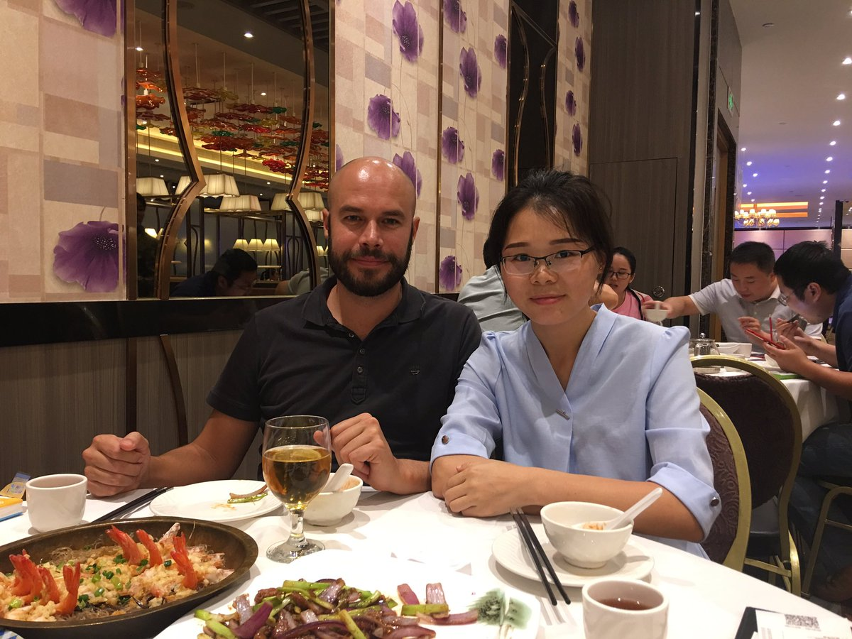 Dinner time with a nice customer after a pleasant visit to our factory. Almost all the customer will choose Chinese food,how about you?  #visitcompany #companyaudit #toolingfactory #moldcompany #injectionmold #moldengineer #moldcustomer #sourcemoldinChina #moldsupplierpic.twitter.com/D4JPi6SNoA