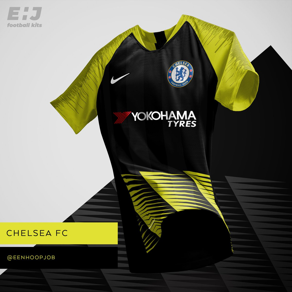 caae6476b Job - Eenhoopjob Football Kit Designs Chelsea FC Away Kit Concept Please  rate 1-10. Who is your favorite Chelsea player