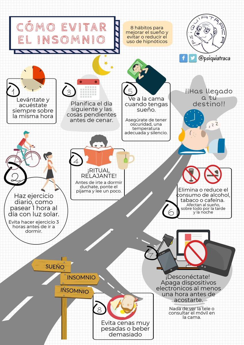 Psiquiatraca On Twitter 8 Consejos Para Evitar El Insomnio