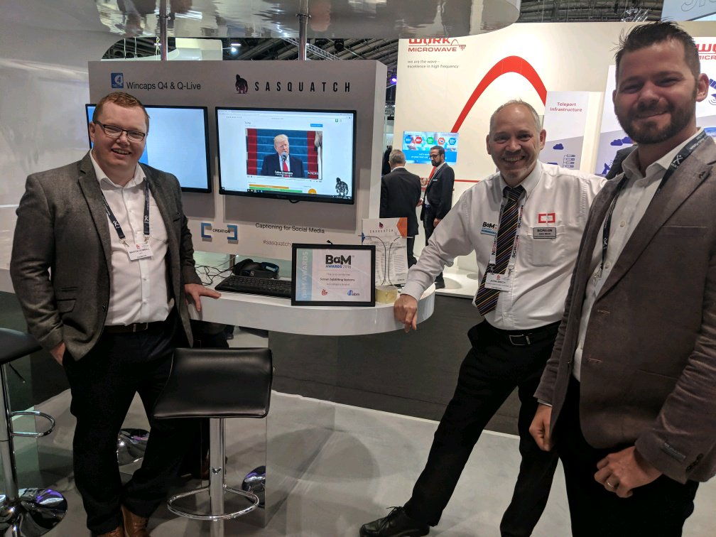 IJYI and @ScreenSystems work collaboratively to create an innovative Automatic Captioning for Social Media app #softwaredevelopment #appdevelopment #Agile #IBC2018 #agilesoftwaredevelopment  http:// bit.ly/2z1GYka    <br>http://pic.twitter.com/Zb7TY8zUFu