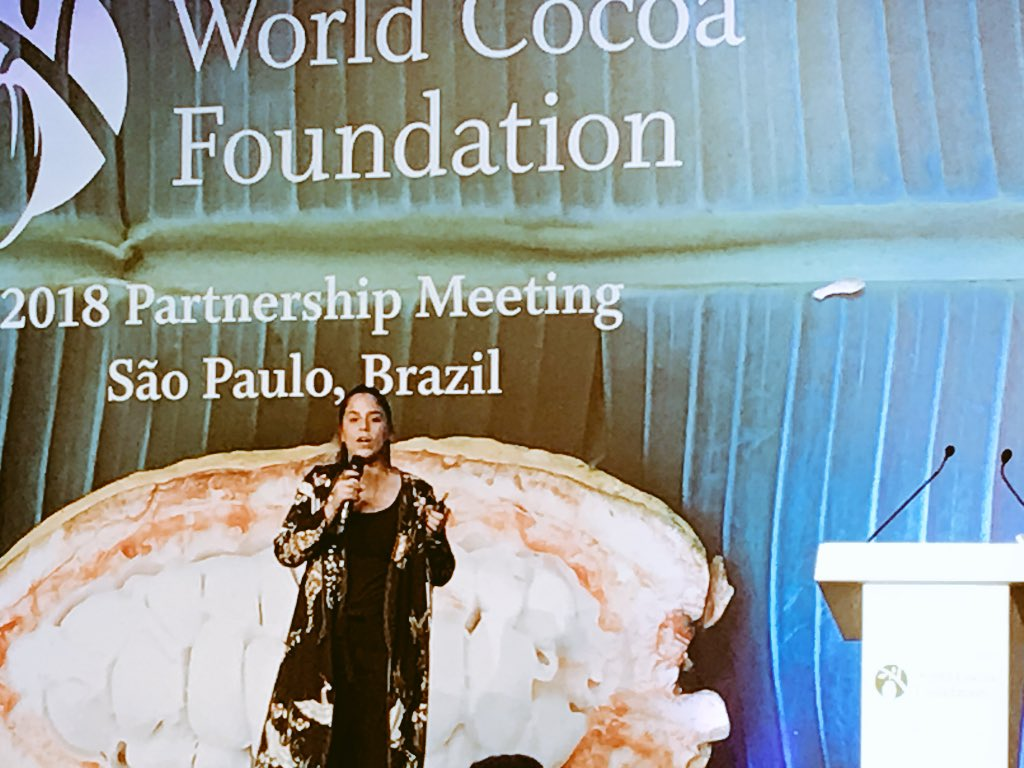 @CasaLuker_  Juana Botero reminds us of a much undervalued asset needed for cocoa #sustainability: #empathy. Important to remember this work is about people working with other people and understanding their challenges. #WCFPM https://t.co/KmsPPkBJs0