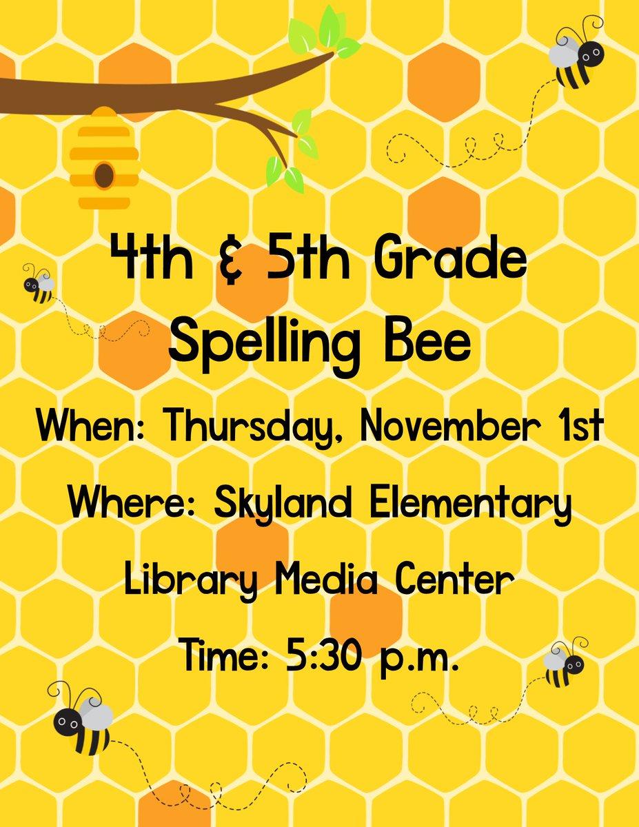 Skyland Elementary on Twitter: