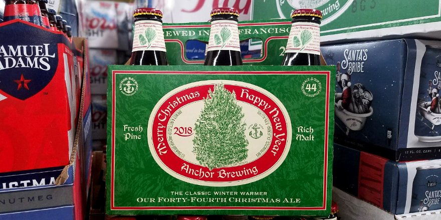 Beer Guy At Jj On Twitter The 2018 Merry Christmas Happy New Year From Anchorbrewing Has Arrived Gear Up For The Holidays With This Christmas