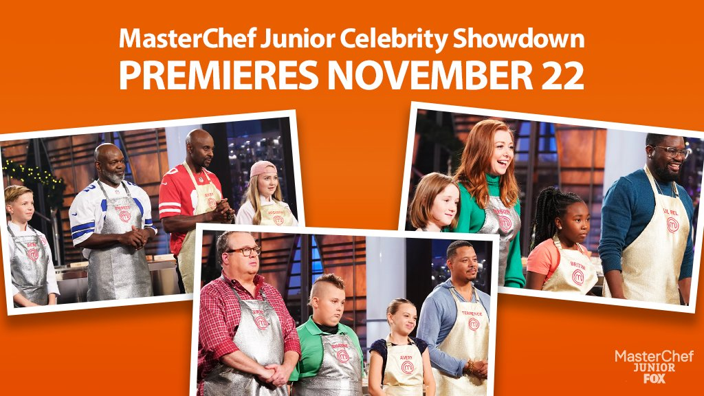 Fox Sets 'MasterChef Junior: Celebrity Showdown' Special ...