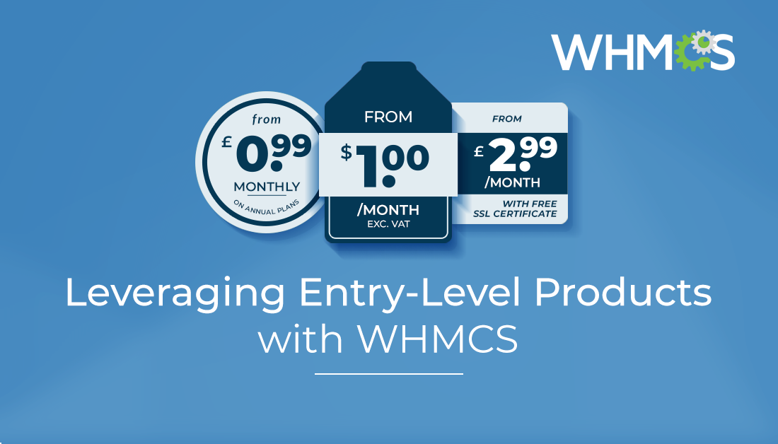 Whmcs On Twitter Are Entry Level Products Part Of Your Product