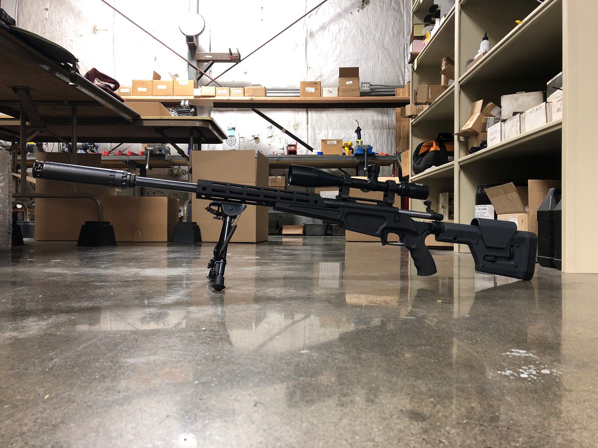 Sneak peek of our new bolt-action chassis with the Nitro 30