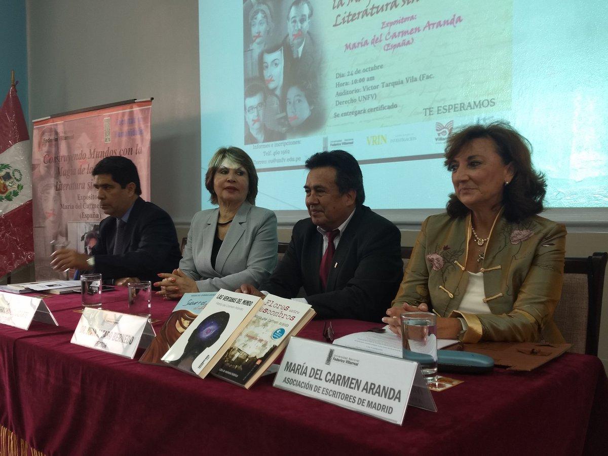 Resultado de imagen de CONSTRUYENDO MUNDOS CON LA MAGIA DE LA PALABRA. LITERATURA SIN CENSURA UNFV