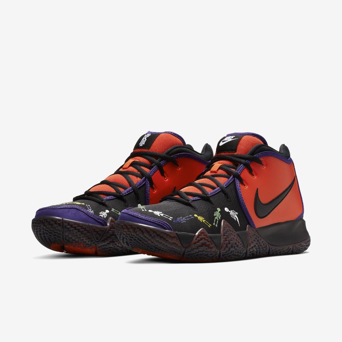 6a3abc3c0e5 Kicks   Les Nike Kyrie 4 « Day of the Dead »