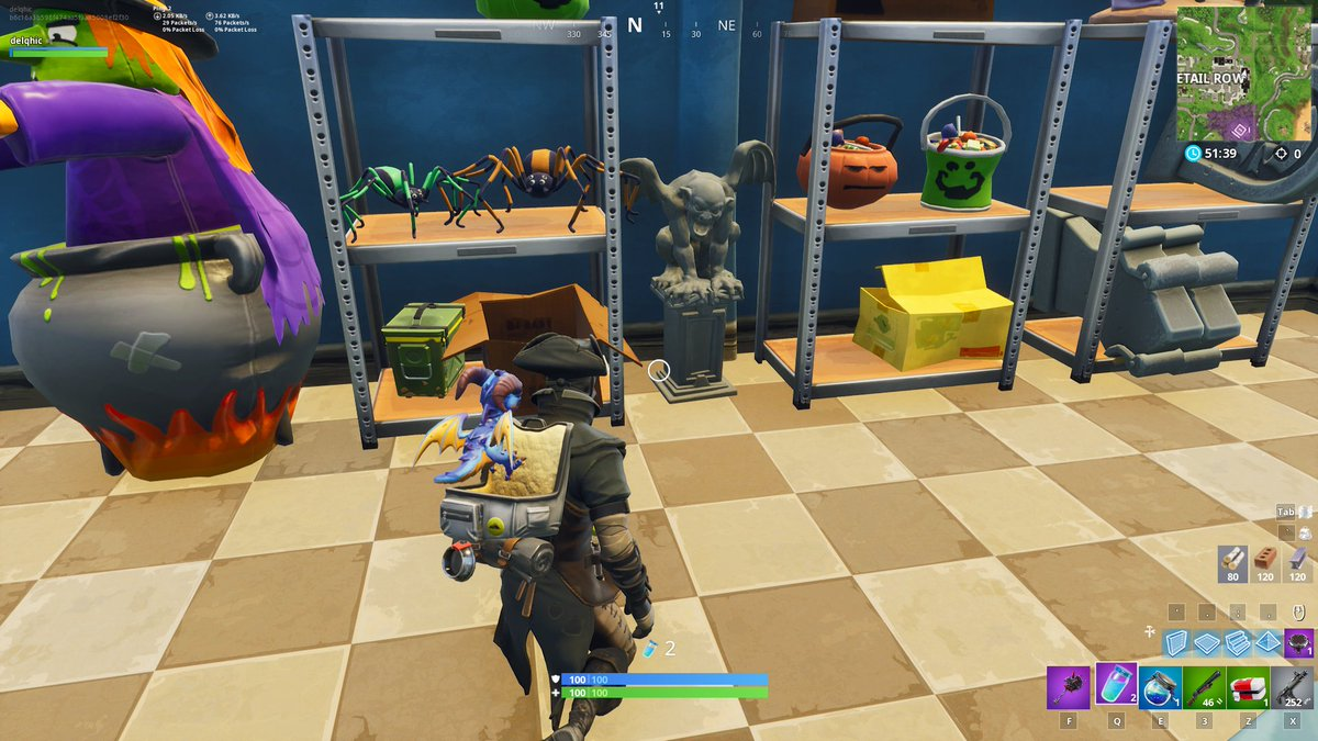 here s all of the fortnite gargoyle locations to complete the challenge - fortnite all gargoyle locations