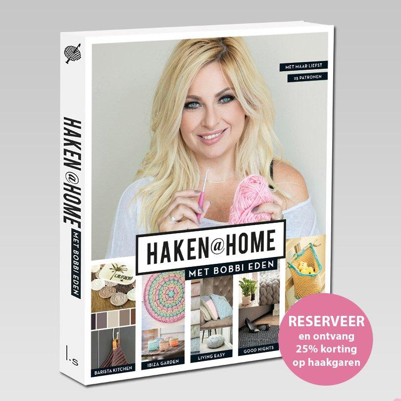 Heeeeel Veel Mensen Krijgen Morgen Al Mijn Nieuwe Boek Haken At Home