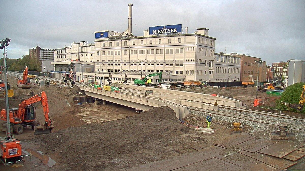 Foto aanleg tunnel