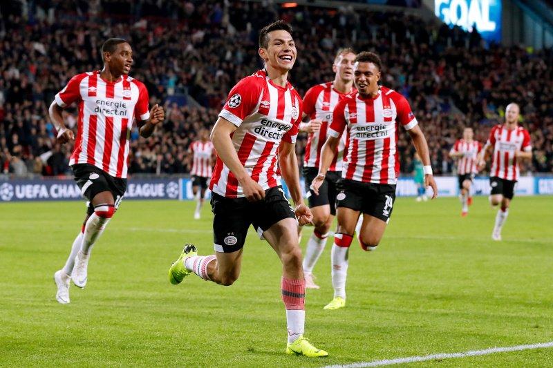 Chucky Lozano hizo su gol con el PSV Eindhoven