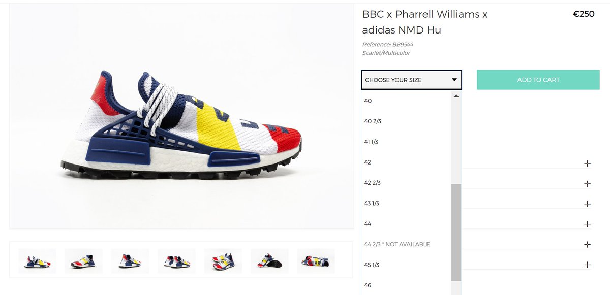 on sale e846a c6b67 ... MoreSneakers com on Twitter RESTOCK of the Pharrell Williams x