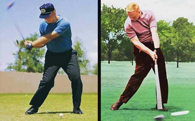 My Swing Evolution A Twitter Jack Released Early Hogan