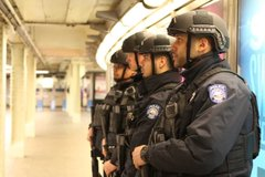 cops in subway system