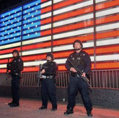 cops in times square