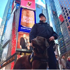 k9 cop in times square