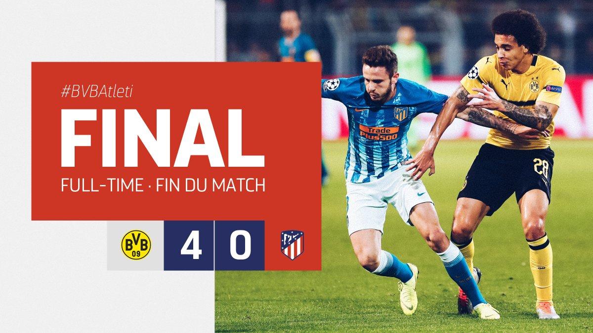 ⏱ 93' | 4-0 | Final en Dortmund.  #BVBAtleti #UCL