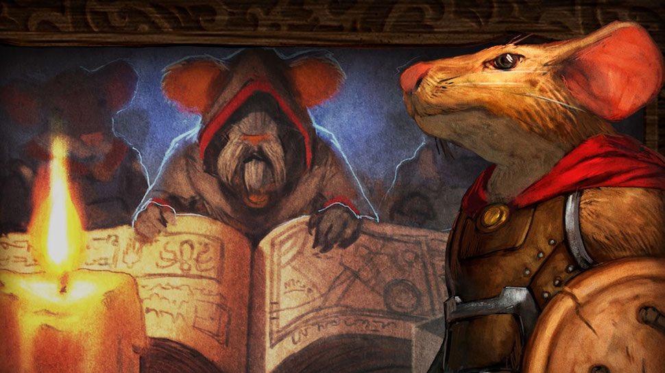 Mice And Mystics (Dreamworks) DqTTnLoX4BEg9UD
