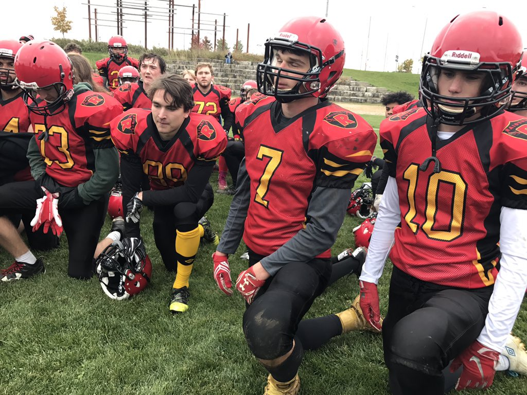 .@KCIAthletics punch a ticket into the postseason with a 26-9 victory over @HHSSHuskies this afternoon. The Raiders will play in the @WCSSAA quarterfinals next Wednesday. Highlights later on 519! #LocalSports #WCSSAA #519Football @ONEKCI