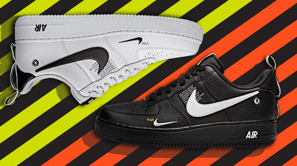 best website 428f6 a4a1e a twist on a classic nike air force 1 07 lv8 utility is now available in