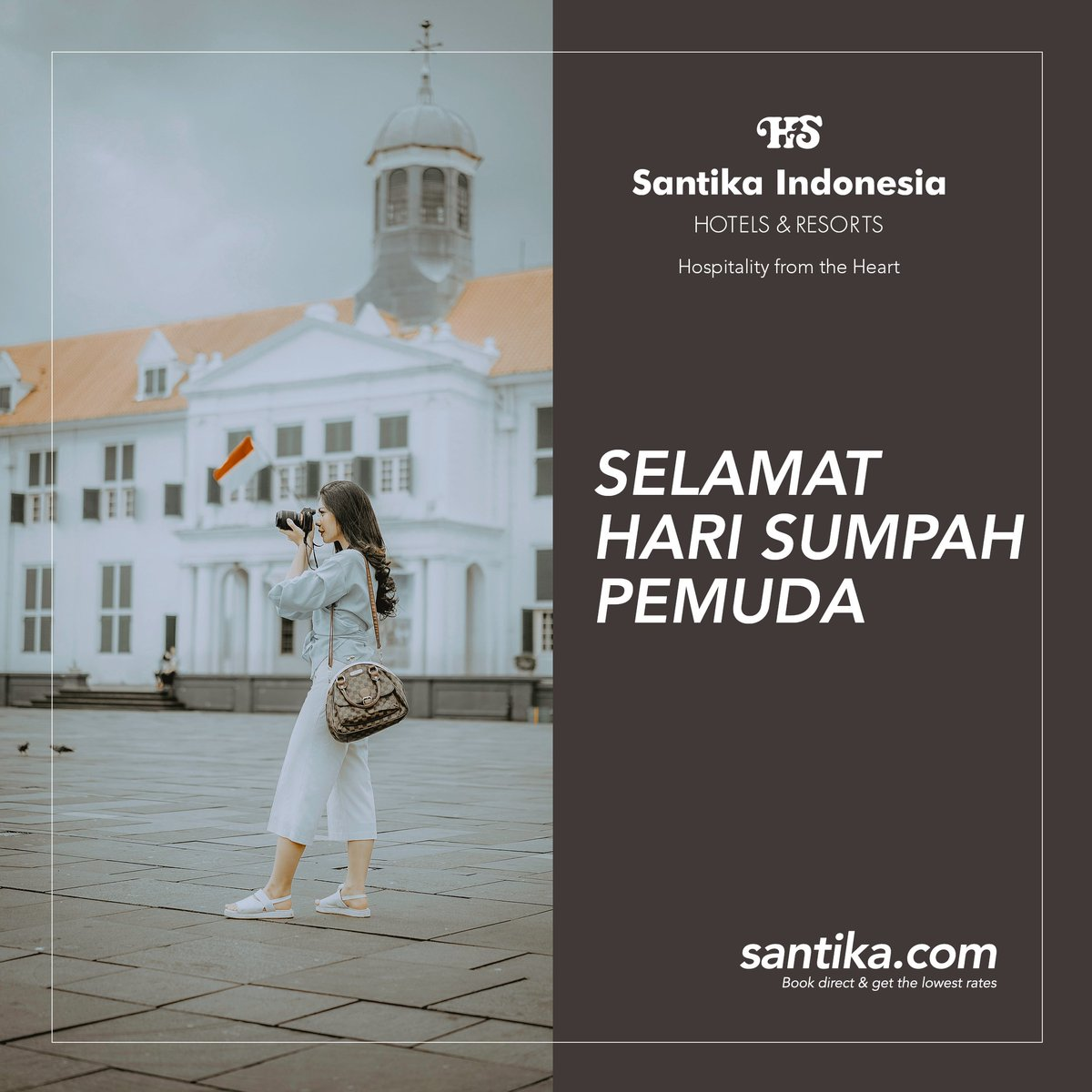 Santika Indonesia Santikahotels Twitter River Wedding Ring Cincin Kawin Tunangan Pernikahan Berlian Emas 0 Replies Retweets Likes