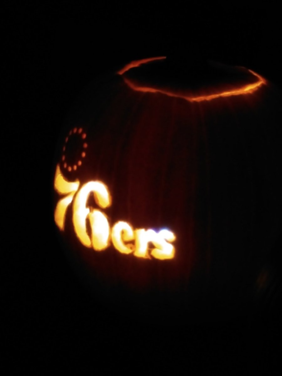 "76ers pumpkin template  Bill Ackerman on Twitter: ""I loooove me some Sixers ..."