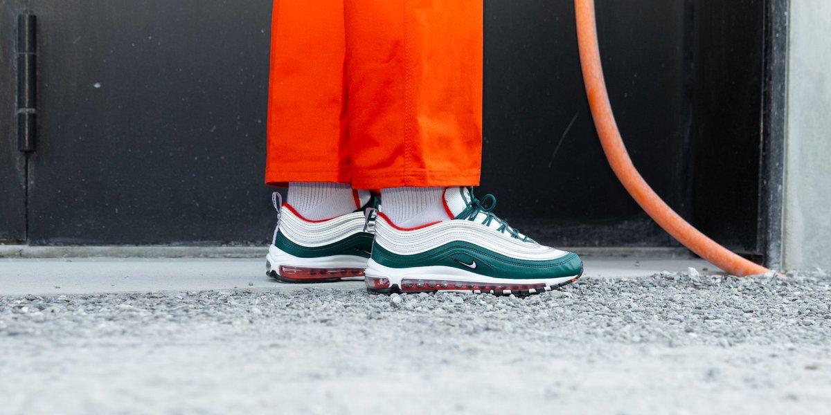 2018 Mens Nike Air Max 97 RainforestWhite Team Orange To Buy