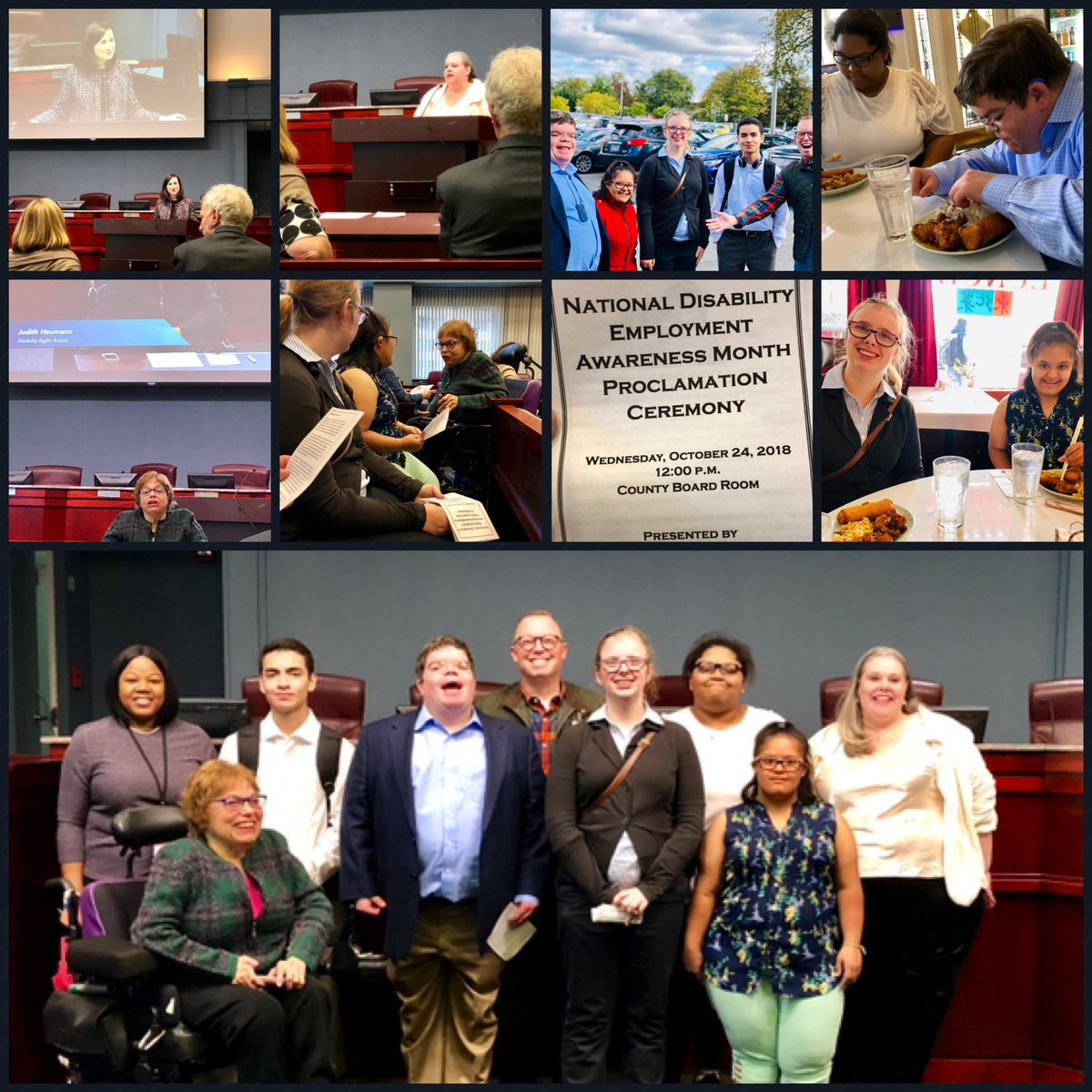 A formal lunch out in the community &amp; a fantastic Proclamation Ceremony presented by LEAD with the one and only <a target='_blank' href='http://twitter.com/kcristol'>@kcristol</a> &amp; <a target='_blank' href='http://twitter.com/judithheumann'>@judithheumann</a> ! <a target='_blank' href='http://twitter.com/Margaretchungcc'>@Margaretchungcc</a> <a target='_blank' href='http://twitter.com/APSCareerCenter'>@APSCareerCenter</a> <a target='_blank' href='http://twitter.com/APSVirginia'>@APSVirginia</a> <a target='_blank' href='http://twitter.com/ArlingtonSEPTA'>@ArlingtonSEPTA</a> <a target='_blank' href='http://twitter.com/MsBakerACC'>@MsBakerACC</a> <a target='_blank' href='http://twitter.com/APHealeyACC'>@APHealeyACC</a> <a target='_blank' href='http://twitter.com/ArlingtonVA'>@ArlingtonVA</a> <a target='_blank' href='https://t.co/kkZTdJVS0N'>https://t.co/kkZTdJVS0N</a>