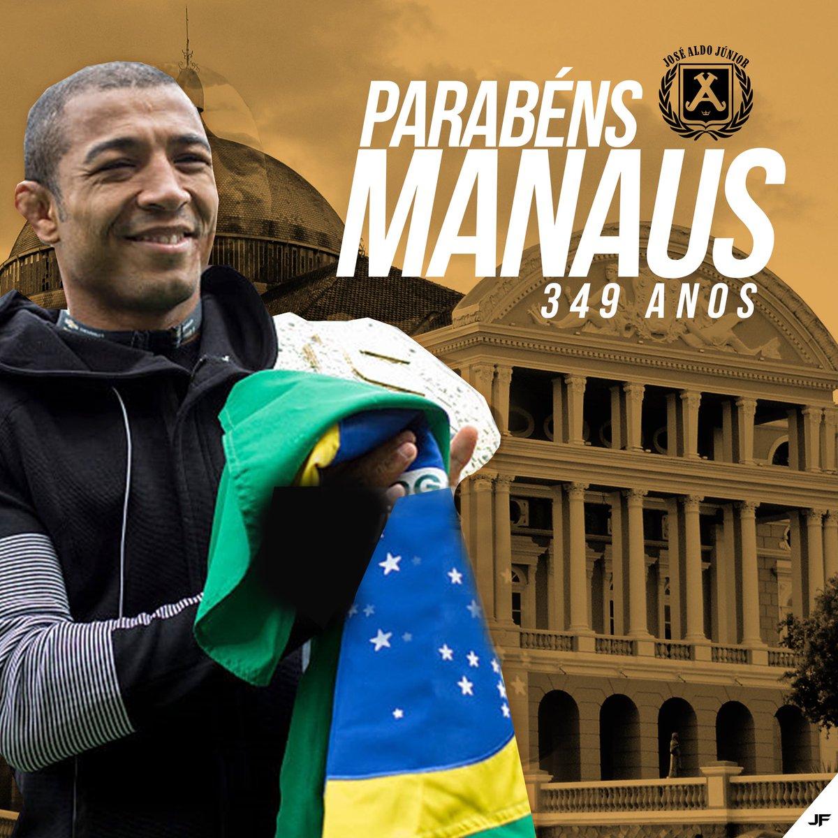 Parabéns #Manaus pelo seus 349 anos 👏🏽👏🏽👏🏽 👊🏽⭐️🥇