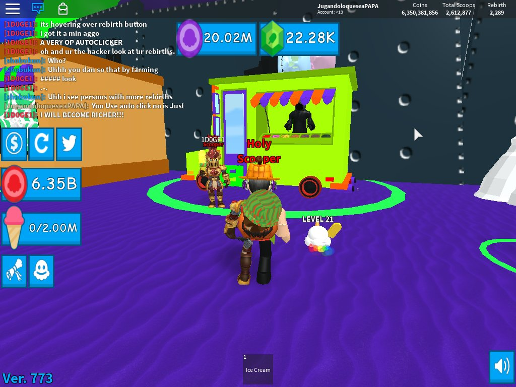 M Brick On Twitter Spooky Update In Ice Cream Simulator