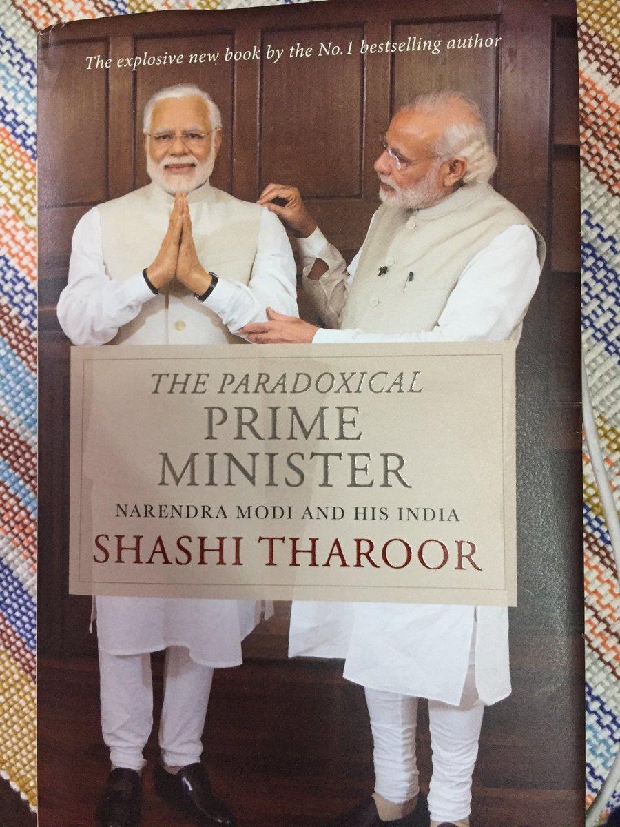 Ashutosh On Twitter Reading Shashitharoor Book The