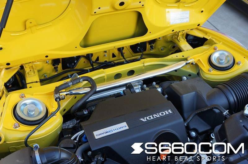 s660com S660 SPIDER Strut tower bar✨ #S660 #S660com #Honda #Beat
