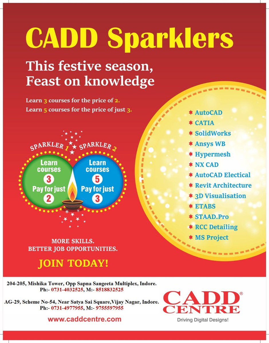 CADD CENTRE INDORE on Twitter: