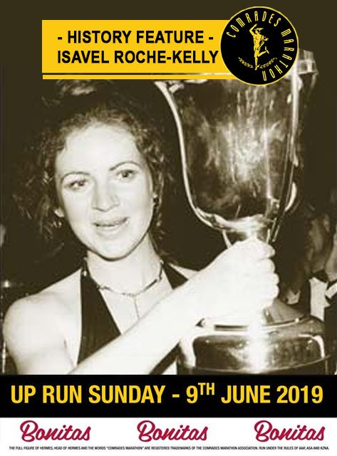 #WorldBeater: In 1980, #Isavel Roche-Kelly, #UCT #sportsperson of the year, became the first #woman to #win a silver #medal at the #ComradesMarathon. #Comrades2018  #Sizonqoba #TogetherWeTriumph