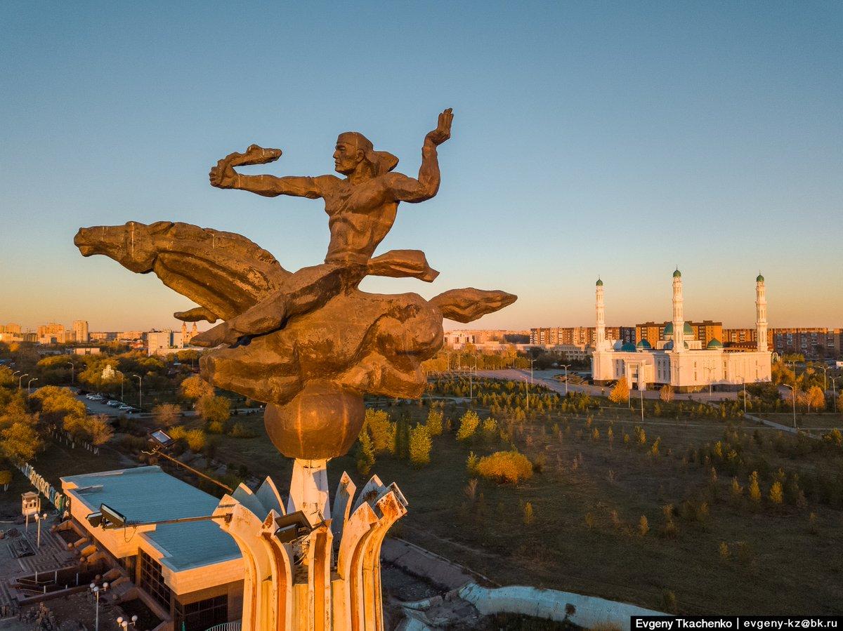 Картинки памятники в караганде