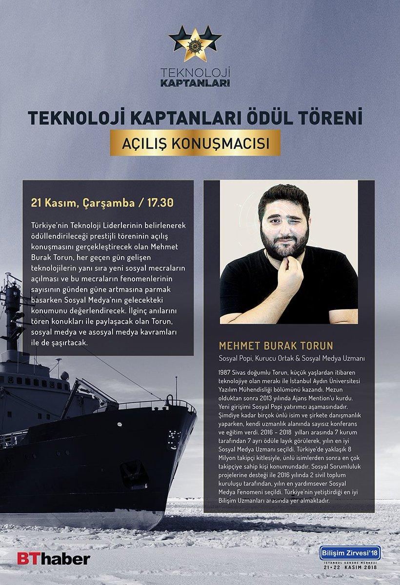 Teknoloji Kaptanları ödül töreninde sürpriz-1 @BurakTorunResmi