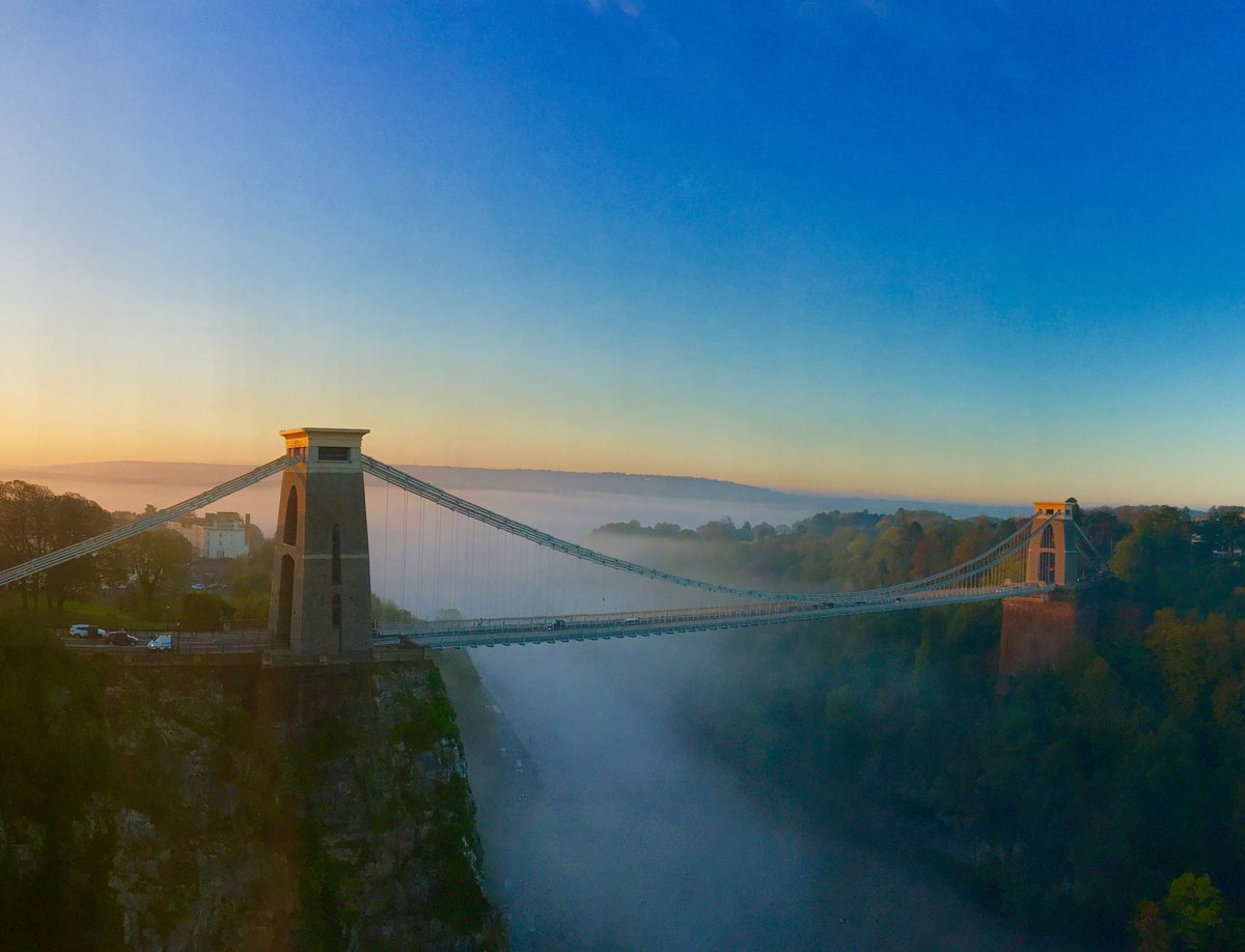 Flipping heck Bristol is looking lovely this morning!