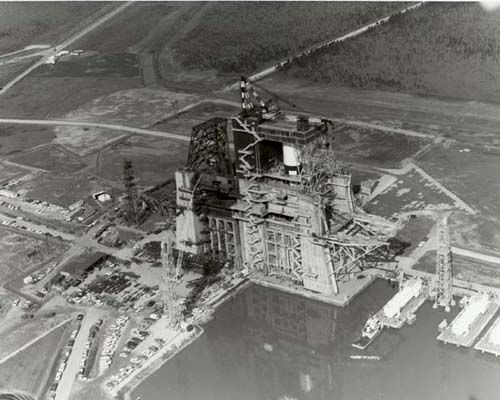 The decision to build the NASA Mississippi Test Facility