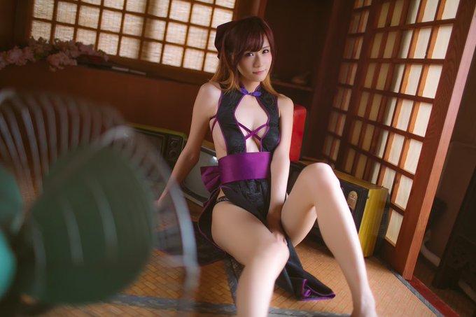 コスプレイヤー莉酱LusiaのTwitter自撮りエロ画像42