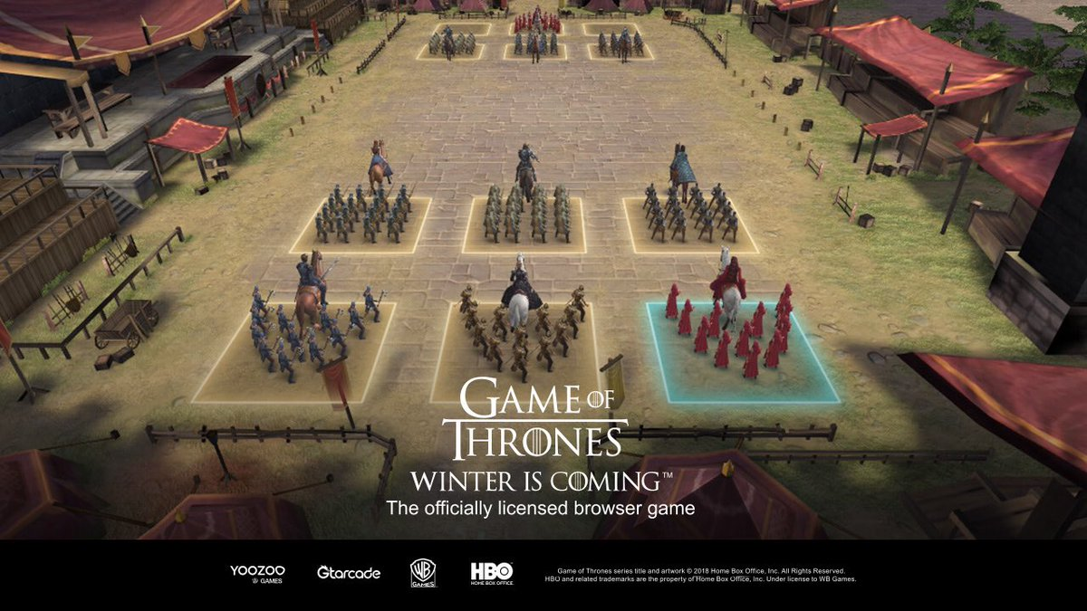 Games of thrones winter is coming game