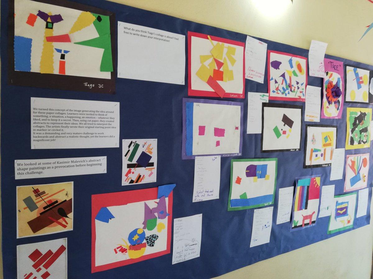 Joe Buscemi On Twitter The Grade 3 Art Exhibition Aismmoz