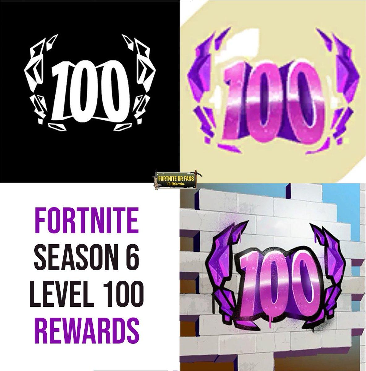 Fortnite Battle Royale Fans On Twitter Season 6 Level 100